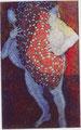 Traumwächter I / Tempera auf Leinwand / 160 x 100 cm / 2000