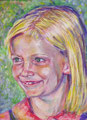Julia/ Tempera auf Leinwand /30 cm x 40 cm/2008