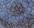 Himmelsvernetzung/Tempera auf Leinwand / 40 x 55 cm/ 2002