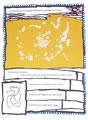 pierre alechinsky, 5 dans ton oeil, jaune