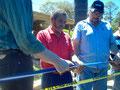 Eröffnung der Bio-Ethanol-Anlage, David Chavez, Präsident von COMSA, März 2010