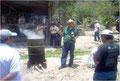 Schulung in Bioanbaumethoden, Finca Mario Perez/COMSA, Mai 2010