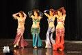 Oriental Divas an der Show Rêve d'Orient 2013