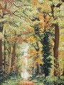 2016 Herfst of Geplant door onze voorouders Acrylverf op linnen 60 x 80 cm. € 1200