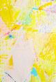 《yamayama》✔ 紙にアクリル絵の具、インク、ペン、色鉛筆 227mm×158mm/2013