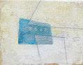 《6月の風景》✔ キャンバスに油彩、インク 139mm×179mm/2011