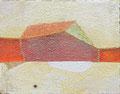 《5月の風景》 キャンバスに油彩、インク 139mm×179mm/2011