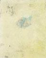 《飛び出した黒》♢ キャンバスに油彩、インク 910mm×727mm/2011