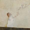 《浮遊》- キャンバスに油彩、インク 1303mm×1303mm/2009