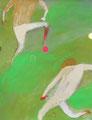 《in the park》 キャンバスペーパーにアクリル絵の具、色鉛筆、インク、ペン 409mm×318mm/2012