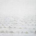 《すきまの風景-砂の山-》-  油彩・キャンバス・インク・ペン   1303㎜×1303㎜/2010