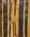 《stem》- キャンバスに油彩、インク 1620mm×1303mm/2011