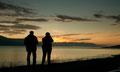 Abends zwischen Akureyri und Grenivik