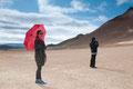 Südkoreanische Touristen im Namafjall-Gebiet