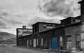 Alte Fabrik in Hjalteyri am Im Namafjall-Gebiet
