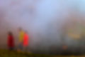 The Fog.... Wasserdampf im Thermalgebiet
