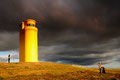 Leuchtturm bei Husavik