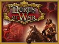 "Kickstarter-Projekt ""Dukes of War"" - Infografik, erstellt unter Verwendung vorhandener Illustrationen © Mosaic Mask Studios"