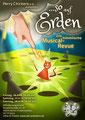 """Plakat/Flyer 2019 für den Musical-Verein """"Perry Chickers"""", Berlin"""