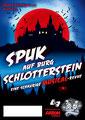 """Eintrittskarte Frontseite 2020 für den Musical-Verein """"Perry Chickers"""", Berlin"""