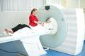 Patientin Radiologie