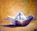 Barco de papel  80x80