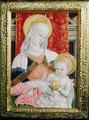 カルロ・クリヴェッリ「聖母子」部分