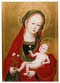 ケルン派の無名の画家「スウィトピーを持つ聖母」