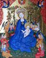 シュテファン。ロホナー「薔薇園の聖母」