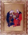 ファブリアーノ「祭壇画」部分