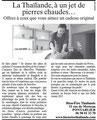 Article de l'Est Républicain du 10 décembre 2012