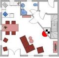 Grundriss Untergeschoss (kleine Abweichungen möglich)