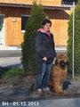 Begleithundeprüfung 01.12.2013 ; Adventure u. Arthur