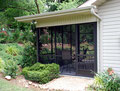 """Screen Room Addition With 3""""x3"""" Structural Post Wall"""