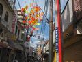 PAD京阪香里園駅前通商店街でドラムサークル1