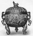 Brûle-parfums, émail cloisonné. Ming. Marque du règne de King-t'ai (1450-1456).