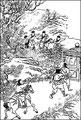 Kouo-Khi-Tsou court après la lune et ne prend que son ombre