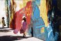 En cours de réalisation, fresque de Jaïmito