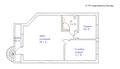 План 2-го этажа, гостевой дом. ул. Леваневского дом 5, аренда дома, пос. им. Ларина.