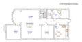 План 1-го этажа, ул. Леваневского дом 5, аренда дома, пос. им. Ларина.