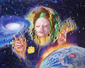 """Prophecy""           acrylic on canvas   65x52.5 cm   25.5""x20.6     2016"