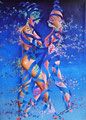 Love 3           acrylic on canvas 36x26 inch,91.0x65.5   cm 2013