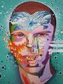 "ELEMENTS-Andy-           acrylic on canvas , 50x64.5 cm, 20""x25   2016"