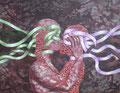 Kiss            acrylic on canvas 16.0x21.0 inch,   41.0x53.0 cm 2011