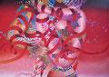 Love 4           acrylic on canvas 26x36 inch,65.5x91   cm 2013