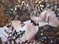 Fascination 3           acrylic on canvas 15x18 inch, 38x46 cm   2012