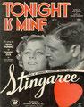 """1934 - Stingaree """"Tonight Is Mine"""""""