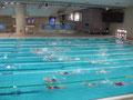 750 Meter Schwimmen im Becken