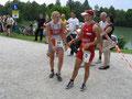 Gratulation auch der zweitplatzierten Lokalmatadorin Marion BRANDSTÄTTER