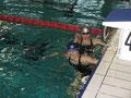 Die weiblichen Spitzenschwimmerinnen: Steffi u Chrissie